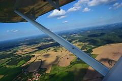 DSC_0219 (jirikoo) Tags: plane woods view dam aircraft sightseeing meadow aerial pasture valley czechrepublic ultralight vltava moldau theczechrepublic orlik pribram