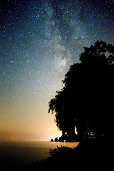 Starry Night (jxtr) Tags: canon6d astrophotography starrynight stars night sky silhouette
