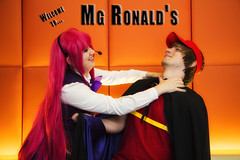 Anime Midwest 2016 Cosplay - Orange Wall Photos (RickDrew) Tags: anime midwest 2016 chicago il illinois orange hyatt ohare rosemont cartoon animation japan japanese convention cosplay costume devil part timer