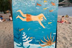 Kyiv. Ukraine. (Tymchenko Olena) Tags: kyiv ukraine trukhaniv island beach summer dnieper river sal24f20z city surreal riverbank