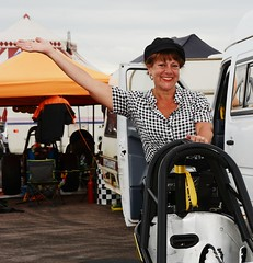 Ruth_7113 (Fast an' Bulbous) Tags: girl woman mature milf hot sexy chick babe drag dragster race car vehicle automobile fast speed power santa pod skirt boots people outdoor nikon motorsport d7100 gimp
