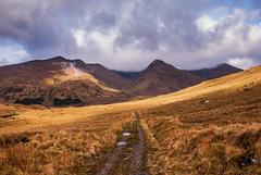 Explore: A long walk in Scotland (Borderli) Tags: scotland schottland glenquoich glen hills walking trekking nature hiking highlands