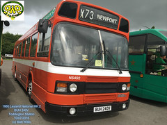 GWSR TODDINGTON BUS RALLY 2016 1980 LEYLAND NATIONAL MK 2 BUH 240V TODDINGTON 10072016 (MATT WILLIS VIDEO PRODUCTIONS) Tags: 2 bus buh rally national 1980 mk leyland 240v 2016 toddington gwsr 10072016