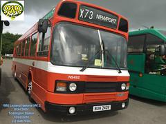 GWSR TODDINGTON BUS RALLY 2016 1980 LEYLAND NATIONAL MK 2 BUH 240V TODDINGTON 10072016 (MATT WILLIS VIDEO PRODUCTIONS) Tags: 2 bus buh rally national 1980 mk leyland 240v 2016 toddington gwsr 10072016