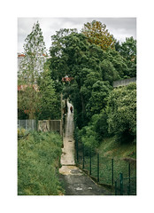 Campolide, Lisboa (Sr. Cordeiro) Tags: campolide lisboa lisbon portugal rua street caminho path subida climb verde green vedao fence nikon v1 nikkor 11275mm