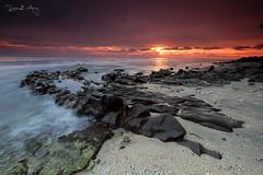 Rocks (Randi Ang) Tags: kaprusan senggigi lombok indonesia landscape seascape nature sunset scenery filter hitech randi ang canon fuji fujifilm xt10