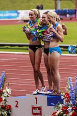 Female 5000m medals (stevennokes) Tags: woman field athletics birmingham track meadows running smith mens british hudson sainsburys asher muir hurdles rooney 100m 200m sprinter 400m 800m 5000m 1500m mccolgan twell