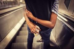_MG_3449fw (travelstreetmodel) Tags: mcdonalds drink hug love close arms cuddle loving escalator londonunderground canon6d canon35mf14l