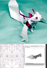 Kyubei (fictional cat) (o'sorigami) Tags: origami complex paper