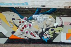 Mutated Rats (Dutch_Chewbacca) Tags: graffiti berenkuil eindhoven rockcity art 040 noordbrabant netherlands dutch holland spray can colors canon dlsr sigma 23 july 2016 summer saturday weekend pretty street legal mutated rats