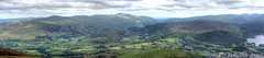 View from Skiddaw (Non Paratus) Tags: derwentwater keswick skiddaw mountains lakedistrict cumbria england uk clouds sky panorama hangglider hills