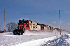 Well it's not High Sun on This One (ac1756) Tags: soo sooline sd402 6609 rexton michigan 911