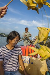 Gifts From The Boat Owner (SAM601601) Tags: sam601601 vietnam mekong delta river palmfigures boat gifts