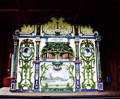 Antique Amsterdam street organ (Meridith112) Tags: holland ottawacounty midwest mi michigan organ dutch tuliptime may 2016 nikon spring nikond610 nikon2485 antique antiquestreetorgan amsterdam carlfrei 1928 streetorgan breda 1947 devierkolommen gift netherlands windmillislandgardens music organmusic