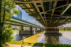 Wien - Donauinsel - U6 Neue Donau (Harald Hochmann) Tags: wien vienna brcke bridges donau danube nikond3300 sigma1750mm