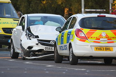 IMG_9588 (Yorkshire Pics) Tags: incident accident caraccident carcrash swillington leeds emergency emergencyservices emergencyvehicles emergencyservice emergencyservicevehicles emergencyservicetransport police policevehicles policetransport policecars 3008 30082016
