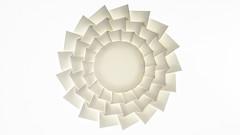 Ring Tessellation/ Rock Paper (Kristina Wiling) Tags: tessellation origami rockpaper kristinawissling paper folding design