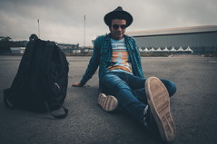 (Kevin Chon) Tags: people portr portrait rerato boy sky urban