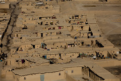 Aerial view of Quadrabad slum 0039 (shahidul001) Tags: poor indigent poverty slum shanty shandtytown quadrabadslum shacks home homes mudhome mudhomes horizontal view aerial color colour day daylight quetta pakistan southasia asia drik drikimages balochistan