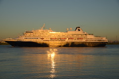 Prinsendam DST_4851 (larry_antwerp) Tags: 8700280 prinsendam antwerp antwerpen       port        belgium belgi          schip ship vessel        schelde