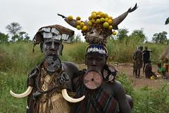 Mursi women (18) (Prof. Mortel) Tags: ethiopia omovalley mursi