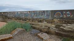 2001 Childrens Mozaic, Amble, Northumberland, England, UK, 9/2016 (SteveT0191) Tags: flickr england uk northumberland amble mozaic