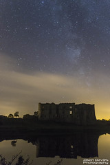 milkyway over the castle (Jason Davies Photography) Tags: milkyway carewcastle carew castle canon canonphotography canon1200d 1200d sky sigmalenses sigma1850f2845 longexposure nightphotography reflections water trees outdoors outdoor landscape photography pembrokeshire pembrokeshirewales jasondaviesphotography astrophotography visitpembrokeshire visitwales westwales