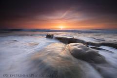 Emergence (sjs61) Tags: sjs61 steveskinnerphotography steveskinner surf sunsets seascape slowexposure whitewaterflow reflectedlight landscapes lajolla hospitalsreef
