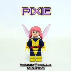 Pixie [MOC] [CUSTOM]  [COMICS] [X-MEN] (agoodfella minifigs) Tags: lego marvel marvellego legomarvel minifigures marvelcomics comics heroes pixie xmen megangwynn moc legosuperheroes legoxmen minifigure marvelheroes mod