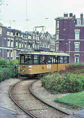 Once upon a time - The Netherlands - Rotterdam Bergpolder (railasia) Tags: holland zuidholland rotterdam lisplein ret routen11 motorcar talbot infra terminus loop sixties