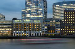 London Bridge Hospital (michaJlS) Tags: london londonbridge thames tamiza twilight longexposure