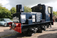 7492 Sentinel Shunter, 1940s Weekend, Avon Valley Railway, Bitton, Gloucestershire (Kev Slade Too) Tags: 7492 sentinel shunter 1940sweekend avonvalleyrailway bitton gloucestershire