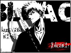 Bleach (10) (Kazuki Nagai) Tags: galerias sakurajournal anime bleach quincy ichigo uryuuishida bankai rukia wallpaper