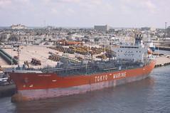 Port of Galveston (Ray Devlin) Tags: texas lonestarstate gulfofmexico coastaltexas coastal usa america shoreline sea portofgalveston galveston port harbour harbor dock marine chemical carrier tanker ship
