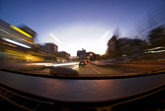 Fragments (Rickydavid) Tags: traffic traffico longexposure lungaesposizione traffictrails scieluminose warp startrek