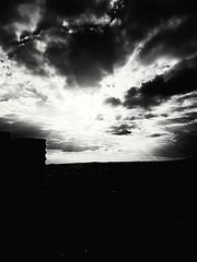 Das Wetter wird besser (eagle1effi) Tags: s7 tbingen black white clouds funshot cameraart creative capture eagle1effi