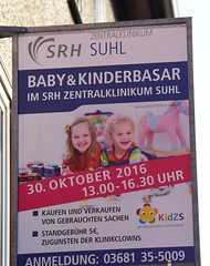 Dangerous country, this Germany!!!;) (:Linda:) Tags: germany thuringia town hildburghausen ad funnylanguage baby child