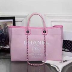 Chanel-Deauville-tote-Treschicshop (11) (TresChicShop.com) Tags: chanel tote handbag