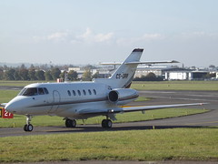 CS-DRR Hawker 125-800XP Netjets Transportes Aereos (Aircaft @ Gloucestershire Airport By James) Tags: gloucestershire airport csdrr hawker 125800xp netjets transportes aereos bizjet egbj james lloyds