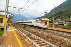 SBB RaBe 503 ETR610 (DavideEos) Tags: eisenbahn ferrovia railway treno train zug merci freight binari domodossola sempione