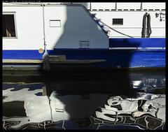 H51-B0014981 copy (mingthein) Tags: thein onn ming photohorologer mingtheincom prague water river vltava czech availablelight reflection boat hasselblad h5d50c medium format 645 h5d hcd 3590456 3590f456