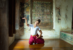 Performing Arts (Sutipond Somnam) Tags: performingarts art thailand cambodia ramayana traditional practicing asia together woman burma vacation preservation cultural expression culture entertainment khanon antique ancient performance portrait