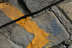 Asphalt art series - scratched (Jrgen Kornstaedt) Tags: canon eos6d asphalt ef24104 santamargheritaligure liguria italy it