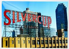 Silvercup Studios (swanksalot) Tags: sign nyc frommycarwindow silvercup studio citi