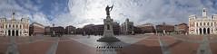 360 con el Conde Ansurez en medio (jose alberto_sg) Tags: 360 plazamayor valladolid nikon d610 josealberto
