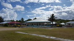 A guest house -- where Samoans greet guests