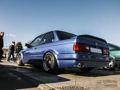 BMW 3-series E30 Sedan series 2 (E30/88) '90 (GonzaloFG) Tags: detail slr ford chevrolet car skyline honda spain italia nissan ferrari camaro german mclaren enzo bmw gto jaguar mustang m3 ducati audi lamborghini rs m6 m5 challenge avant v8 rs2 spotting s2000 e30 nsx gallardo amg drifting rs4 typer gtr trackday murcielago etype quattro gt40 f40 r8 f12 rs6 v12 f50 nismo e46 r34 e36 berlinetta superleggera 458 899 m3csl desmosedici panigale ftype 275gtb rs3 e92 worldcars circuitodeljarama stralade m235i