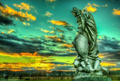 20141225-SAM_2340_1_2_tonemapped.jpg (dcsaint) Tags: sky usa art statue angel america photography unitedstates pennsylvania samsung pa devil northamerica hdr berkscounty lightroom padrepio barto dcsaint lr5 nx30 photomatixessentials 111bartoroad
