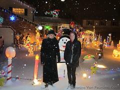 December 25, 2014 - Residents enjoy a Christmas light display. (Janice Van Peursem Koch)