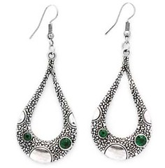 Glimpse of Malibu Green Earrings P5810-2